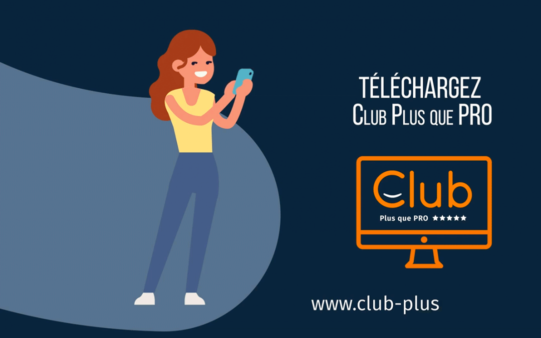 Application Club Plus que PRO